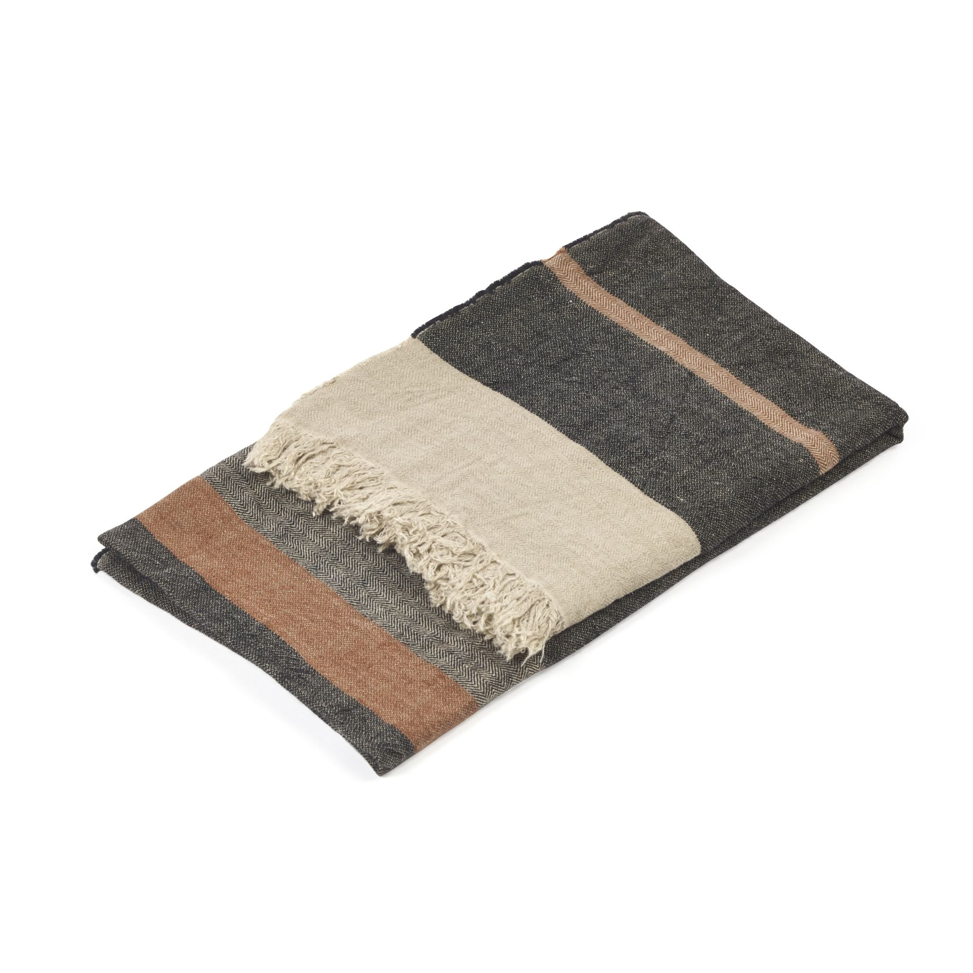Mc Project Store Libeco Fouta Black Stripe 1