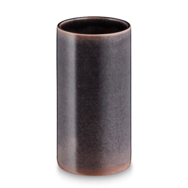 Mc Project Store H.skjalm Vase Cylindre Houston Grey 16cm 1